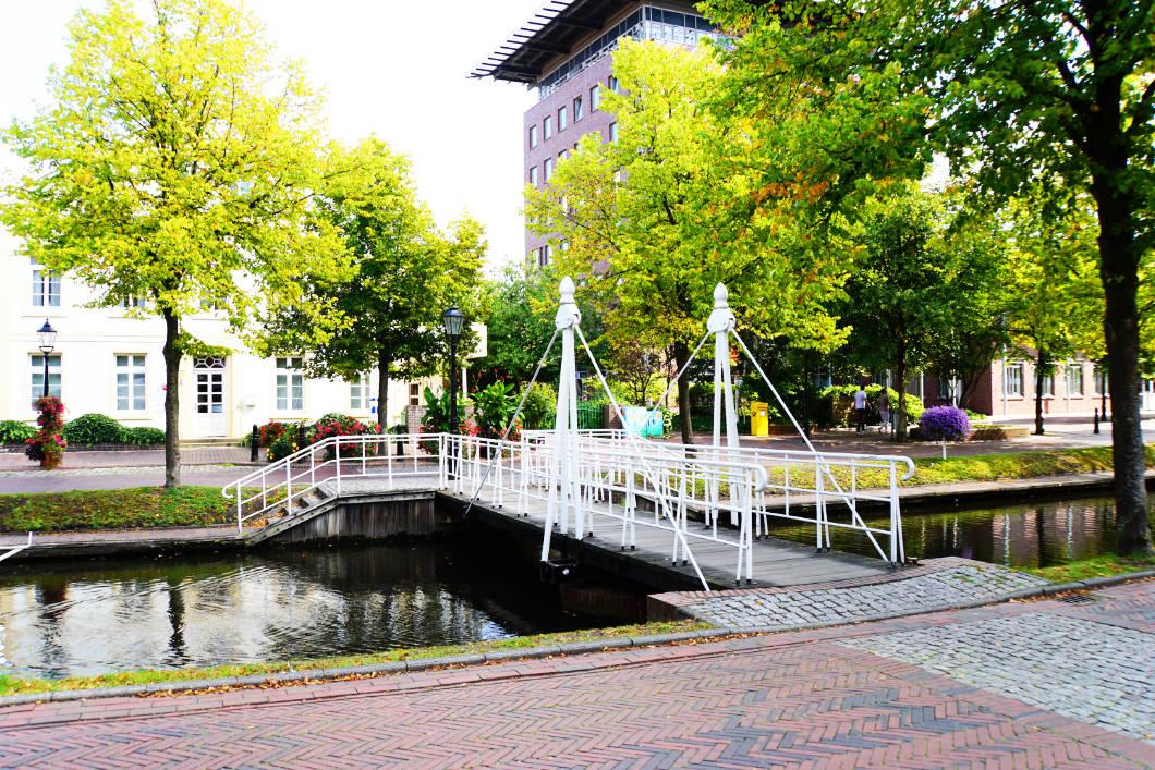 Hauptkanal in Papenburg