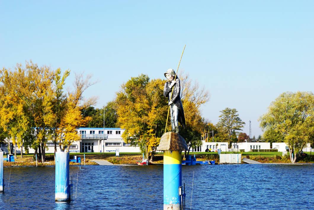Fritze Bollmann Floß fahren Brandenburg an der Havel