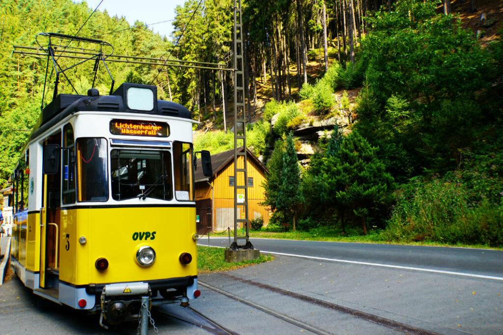 Kirnitzschbahn in Bad Schandau