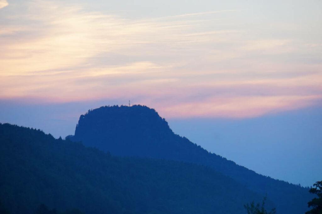 Sonnenuntergang Lilienstein