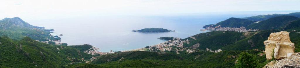 Küstenabschnitt um Budva