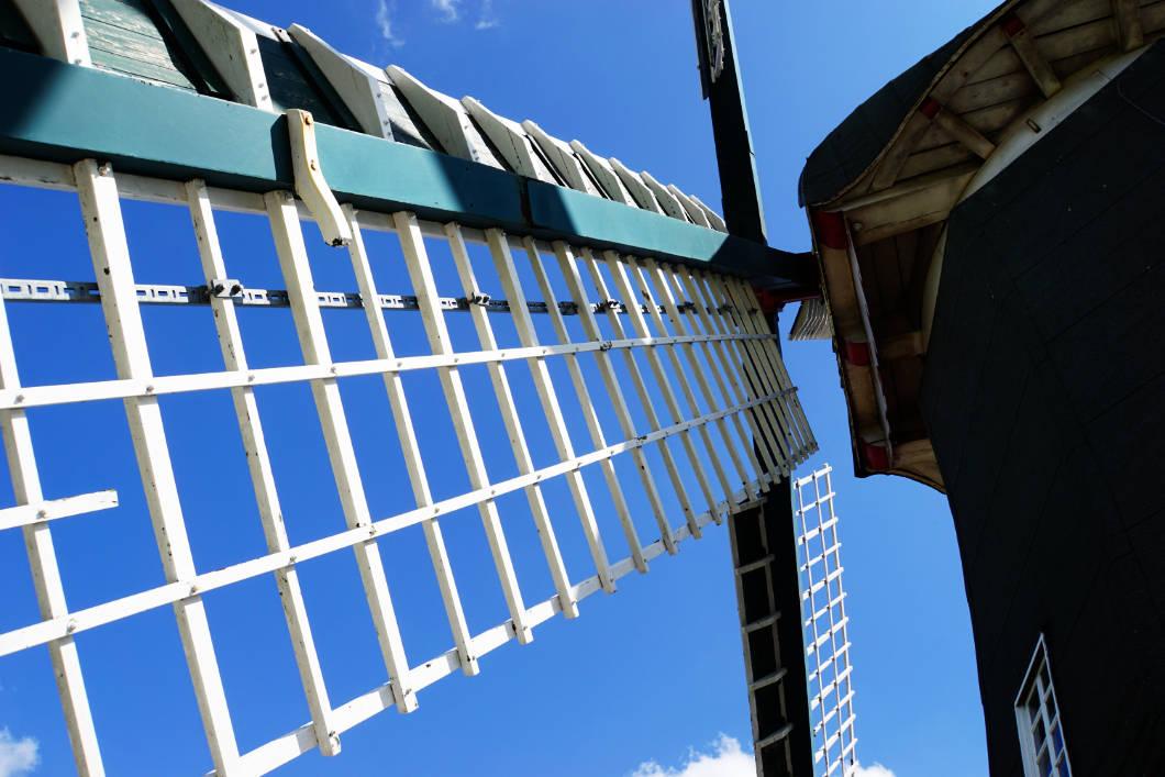 Papenburg entdecken - Windmühlenflügen