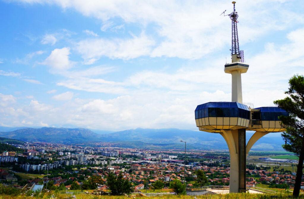 Aussichtsturm Podgorica