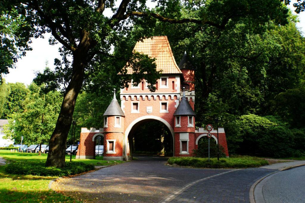 Eingangstor zum Gesundheitspark