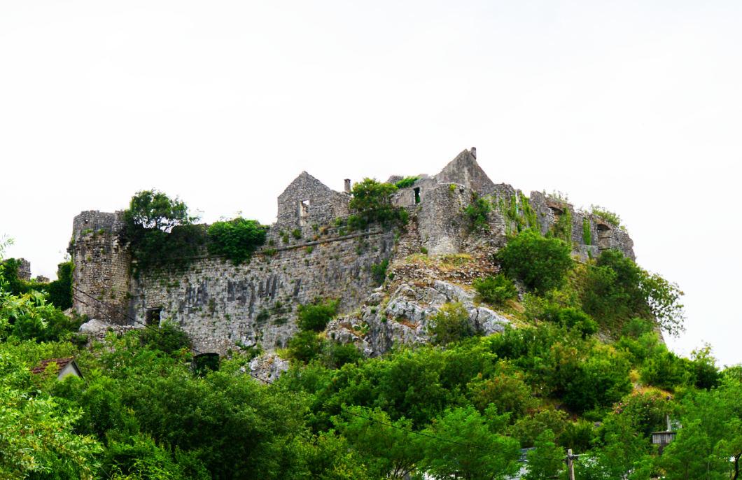 Festung am Skadarsee