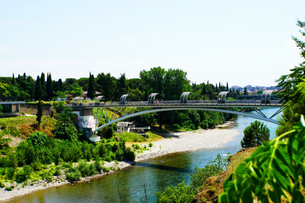 Moskauer Brücke in Podgorica