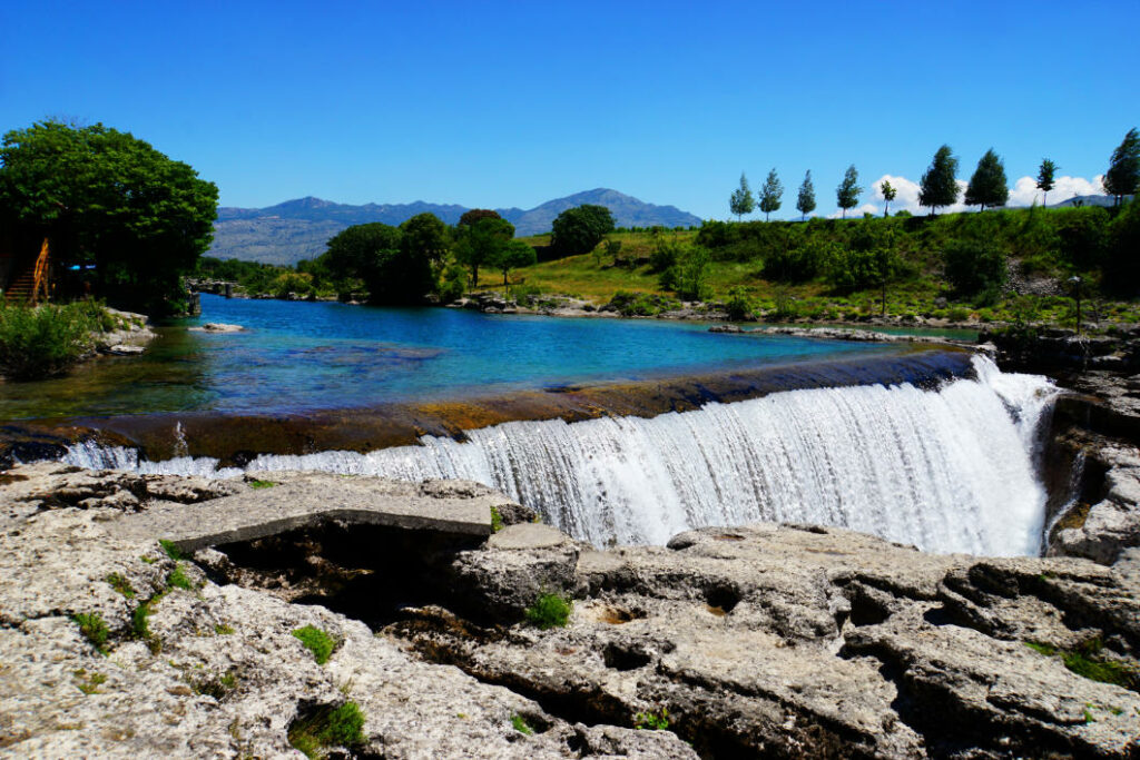 Podgorica Niagara Wasserfall