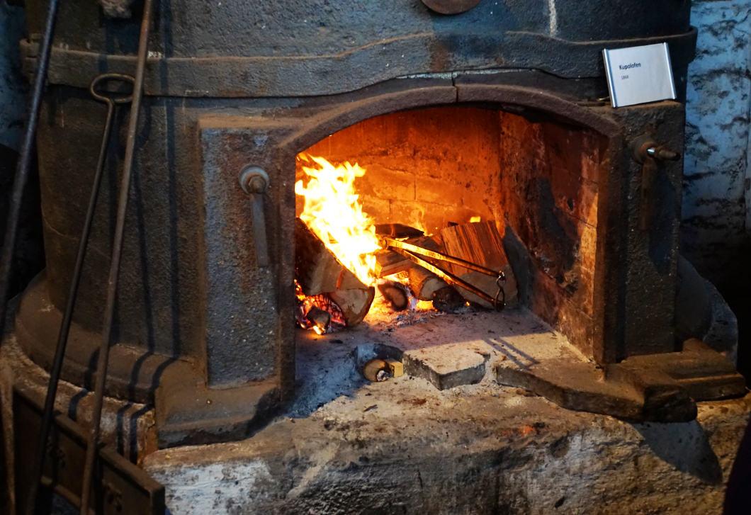 Ofen zum Backen von Klemmkuchen - Peitz