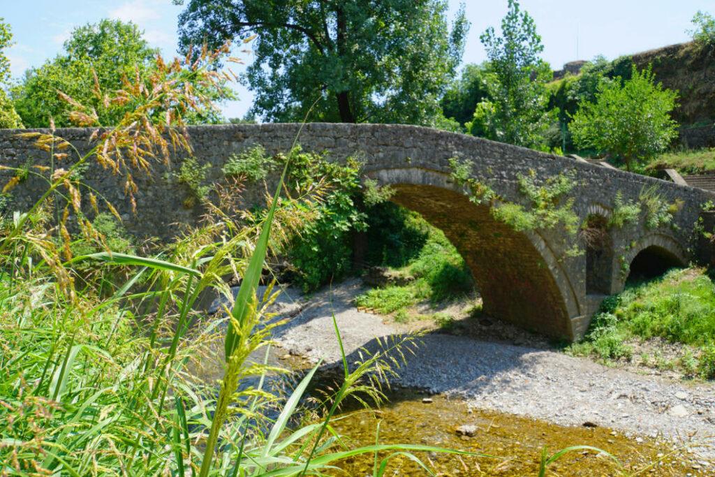 alte Brücke in Podgorica