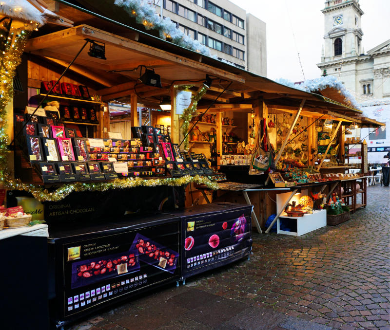 Weihnachtsmarkt in Budapest