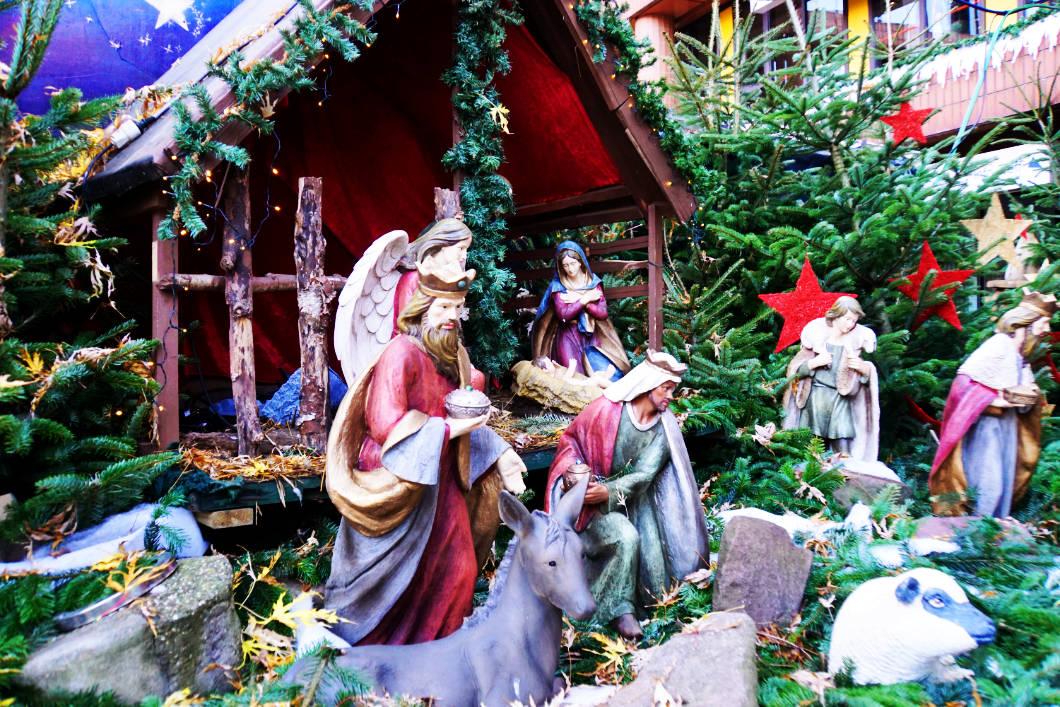 Weihnachtskrippe in Münster