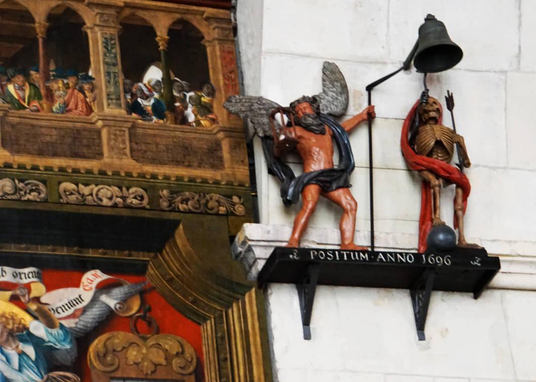 Astronomische Uhr im Dom von Münster