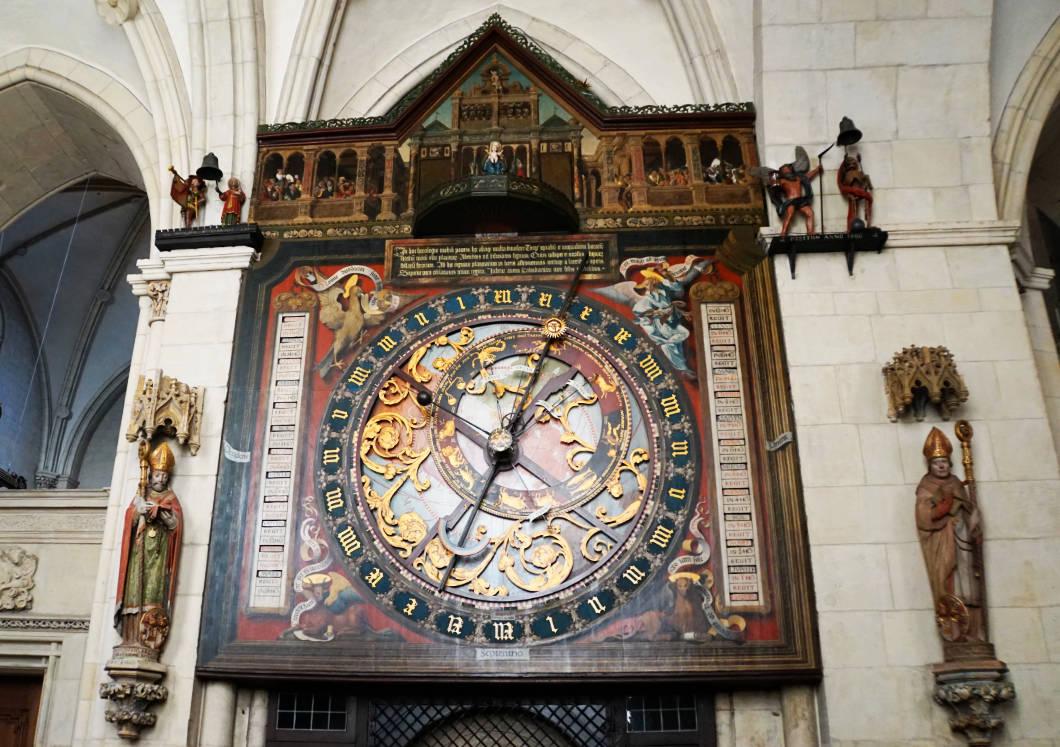 St.Paulus-Dom in Münster Astronomische Uhr