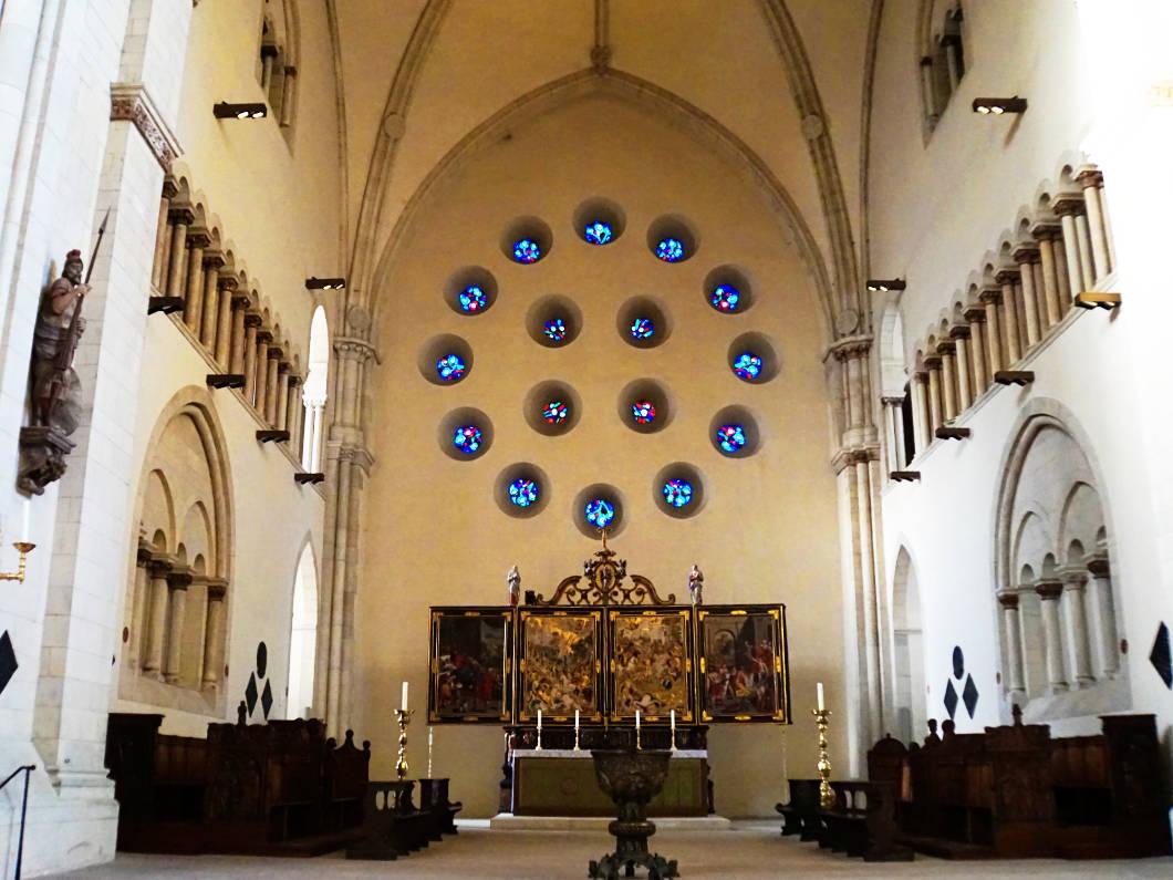 ehemaliges Westportal im Dom von Münster