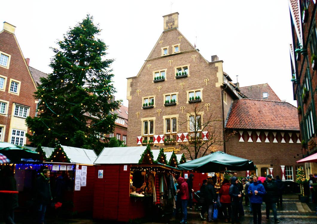 Weihnachtsmarkt Kiepenkerl in Münster