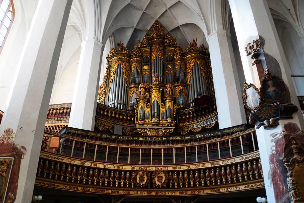 Orgel von St Nikolai in Luckau
