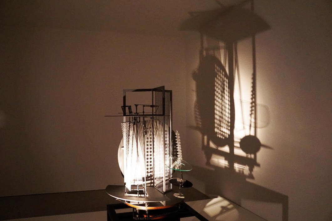 Bauhaus Ausstellung in Münster, LWL-Museum Laszlo Moholy-Nagy Lichtrequisit
