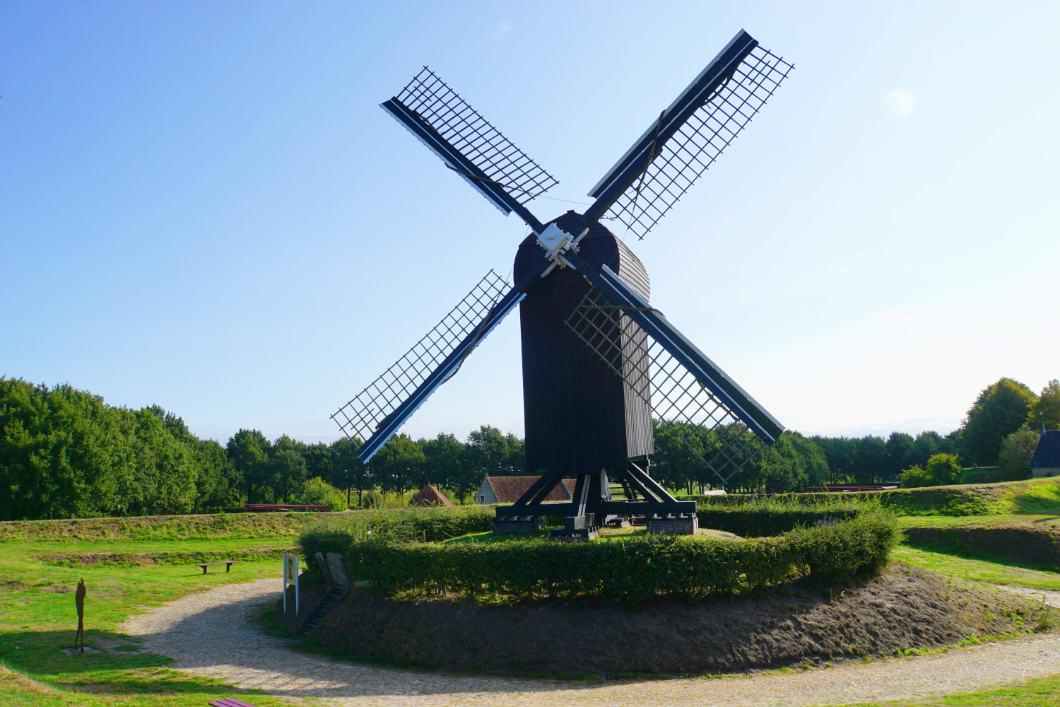 Bockswindmühle in der Festung Bourtange