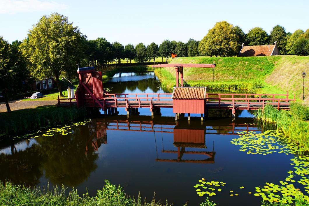 Festung Bourtange - Festungsbrücke