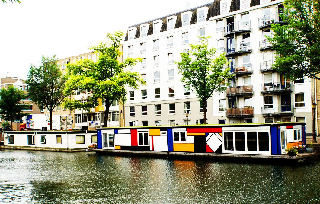 Zu Fuß durch Amsterdam