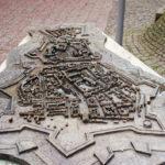 Modell von Wolfenbüttel - Wolfenbüttel Jägermeister Tour