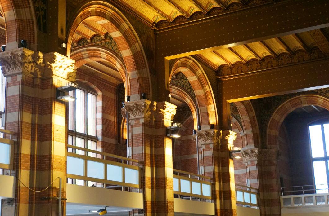Eingangshalle Hauptbahnhof Amsterdam