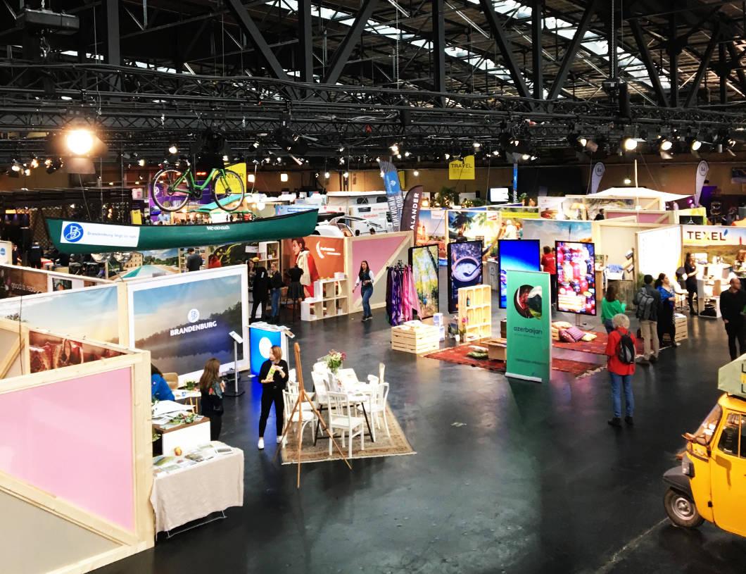Travel Festival Berlin in der Arena in Treptow