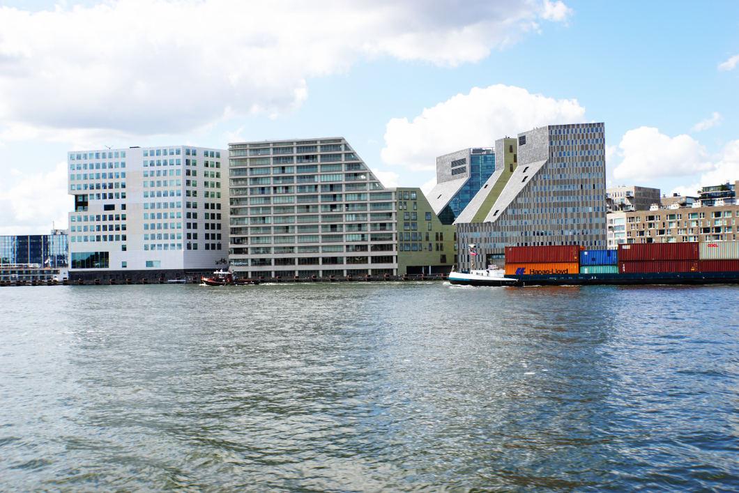 Hafen von Amsterdam