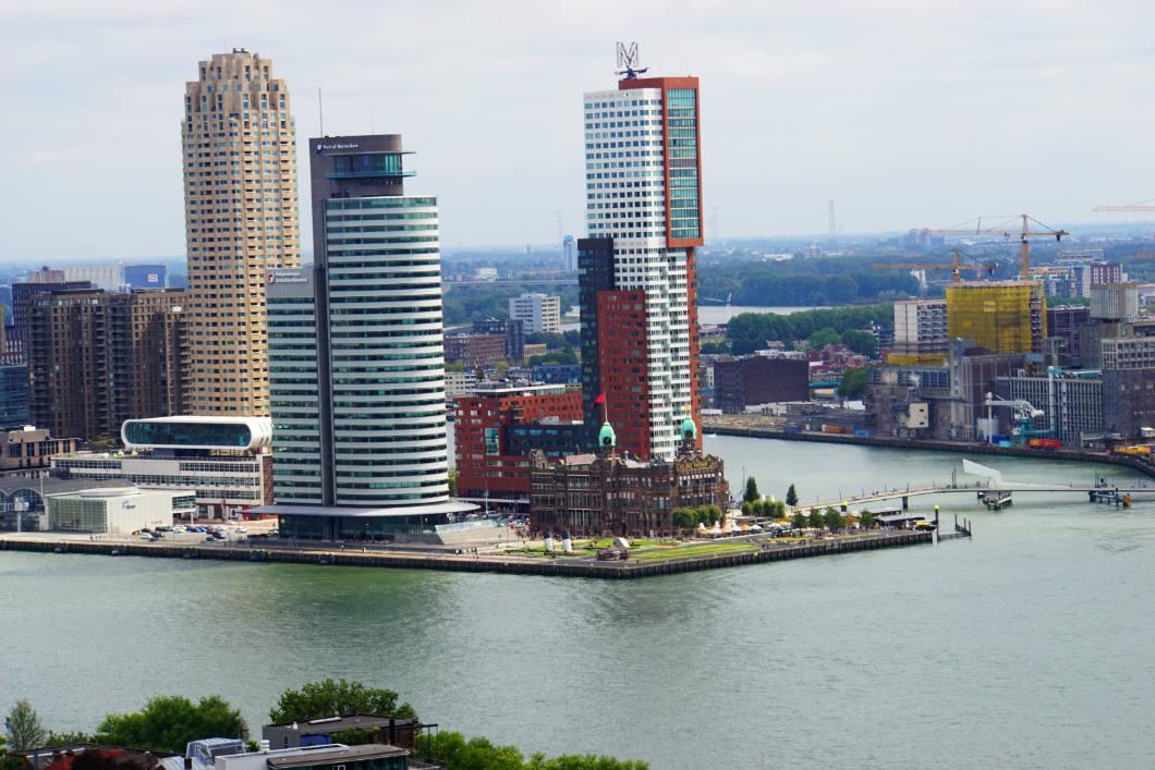 Rotterdam besichtigen - Hotel New York