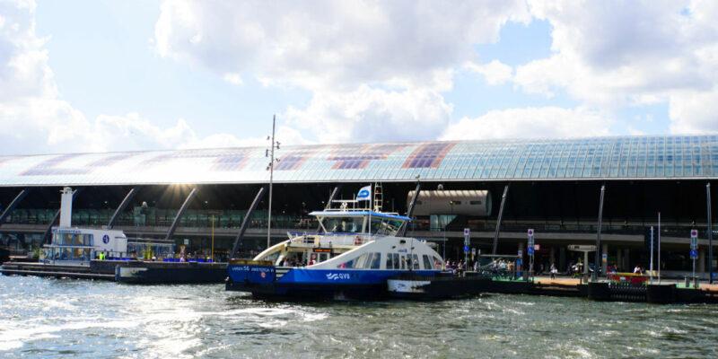 kostenlose Fähre in Amsterdam