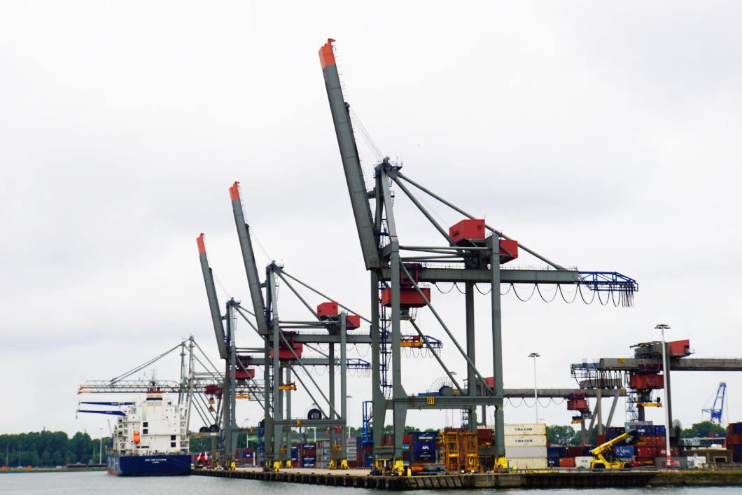 Hafenrundfahrt in Rotterdam