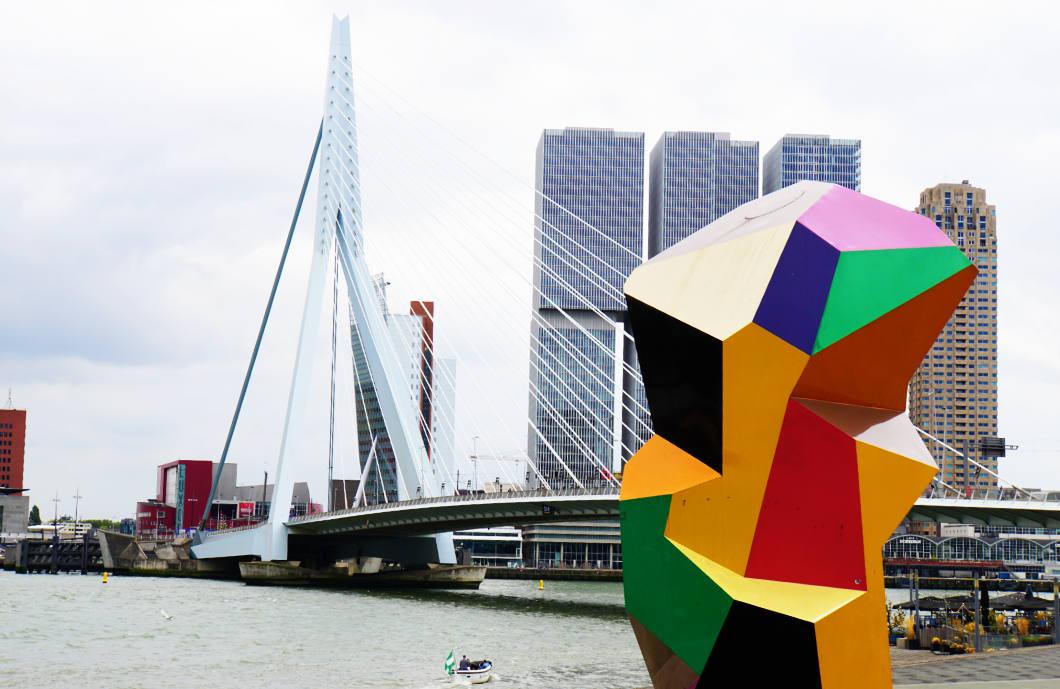 Erasmusbrücke Rotterdam besichtigen