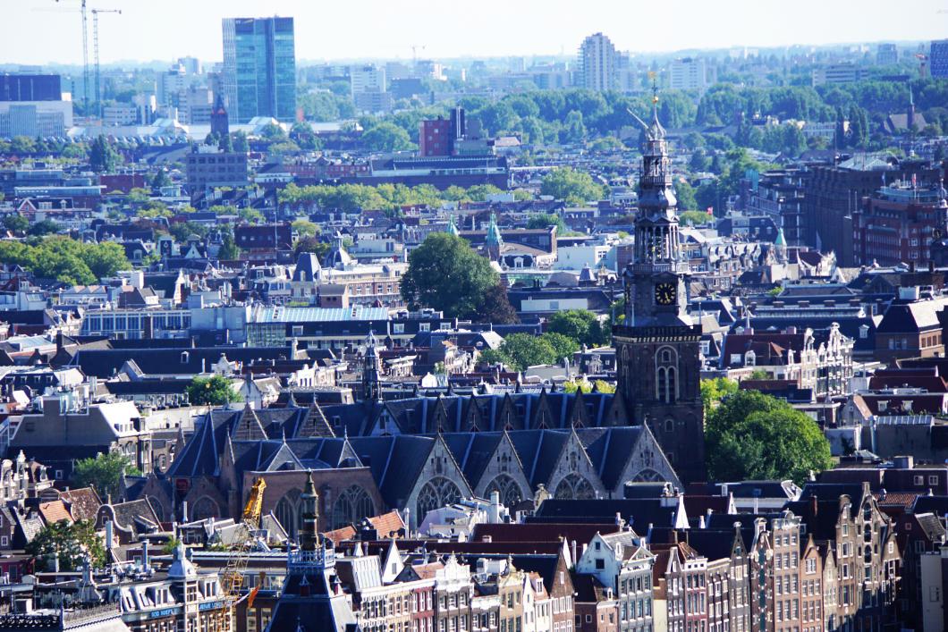 Aussicht über Amsterdam