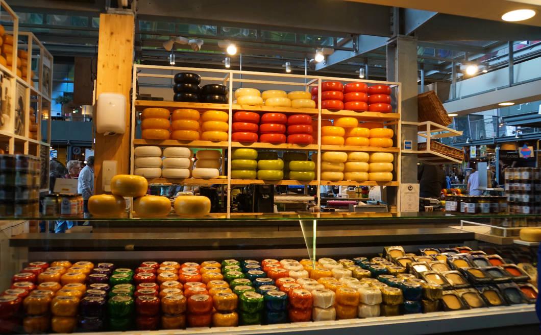 Markthalle Rotterdam Käsetheke