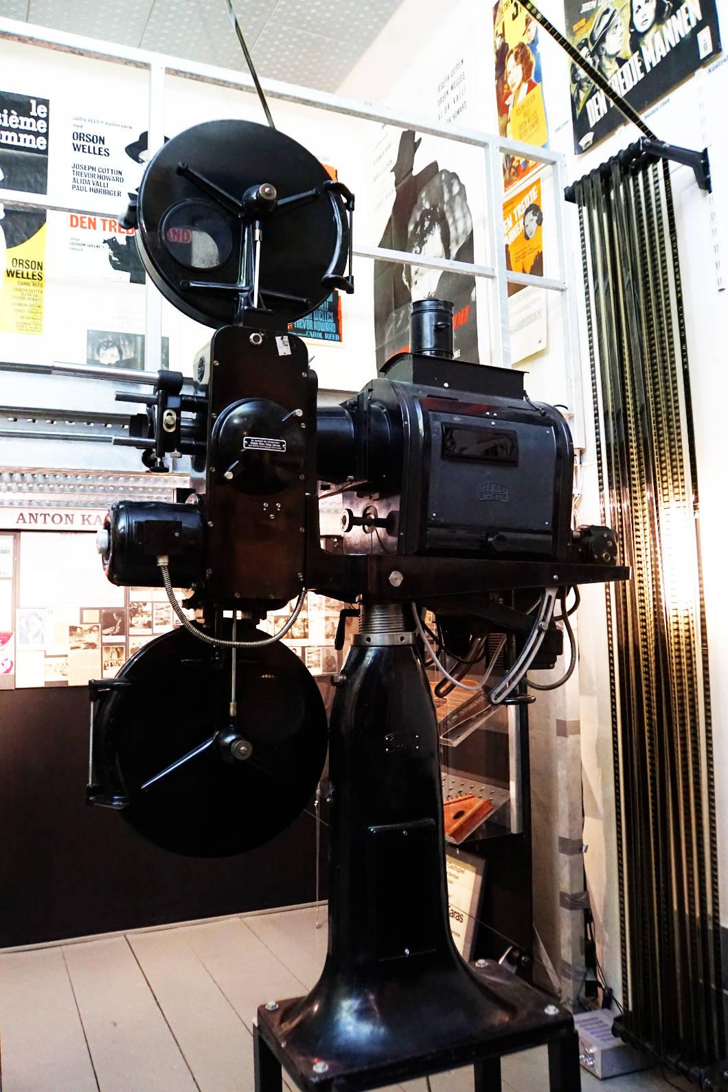 Dritte Mann Museum Filmprojektor
