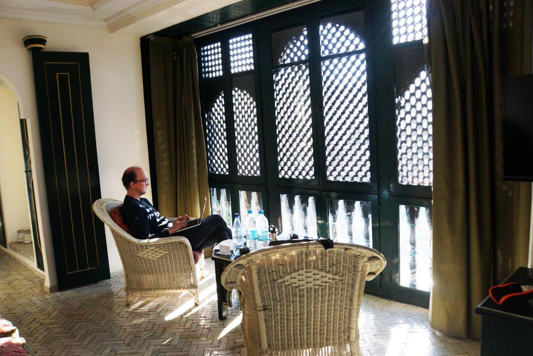 Hotel Mogador Al Madina - Arbeiten im Urlaub