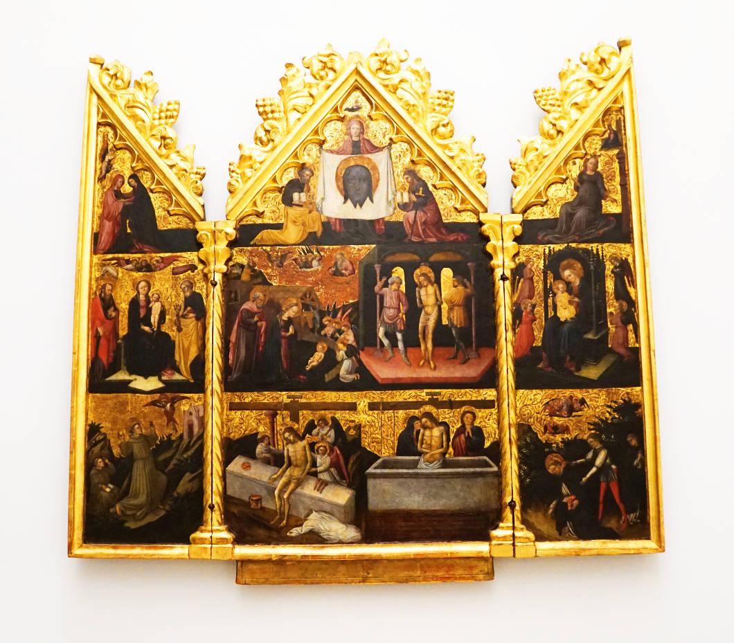 Dom Museum Wien: lombardischer Triptycon
