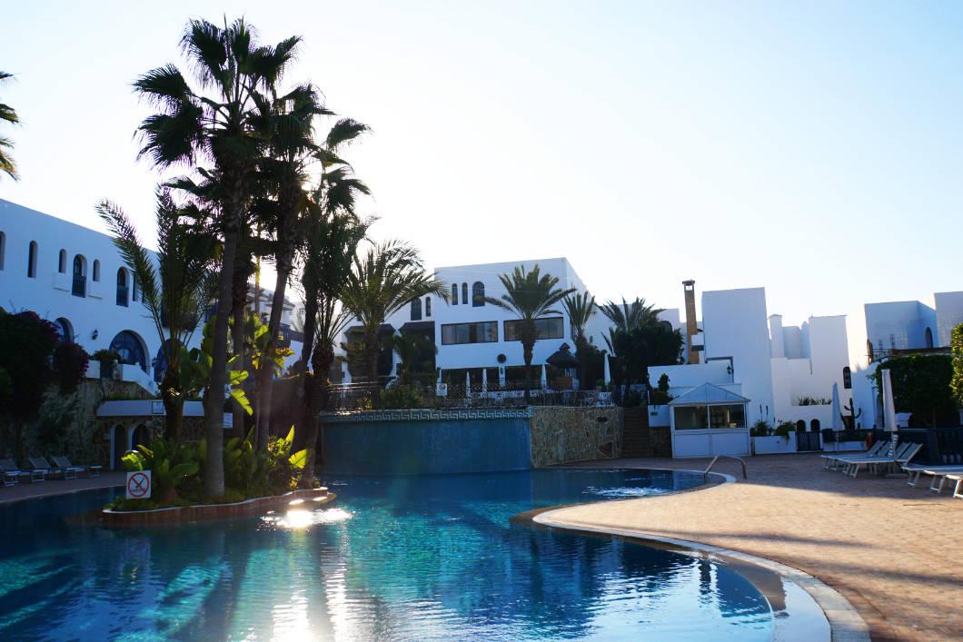 Poolanlage Hotel Mogador Al Madina