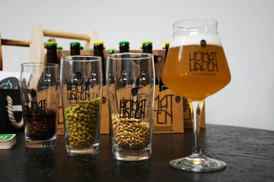 Heimat Hafen Bier in Erfurt