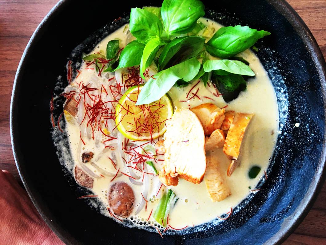 Essen in Wien - HK Curry Bowl