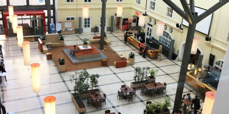 JUFA Hatel Wien Blick Atrium