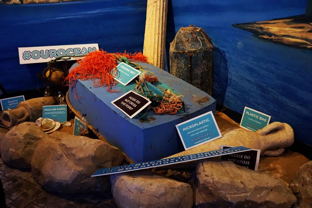 Malta National Aquarium Umweltschutz
