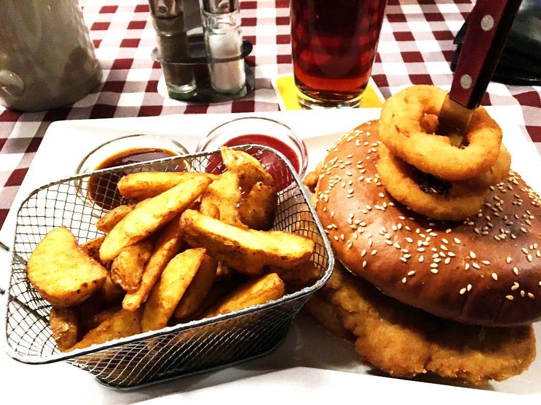 Simmeringer Landbier Burger