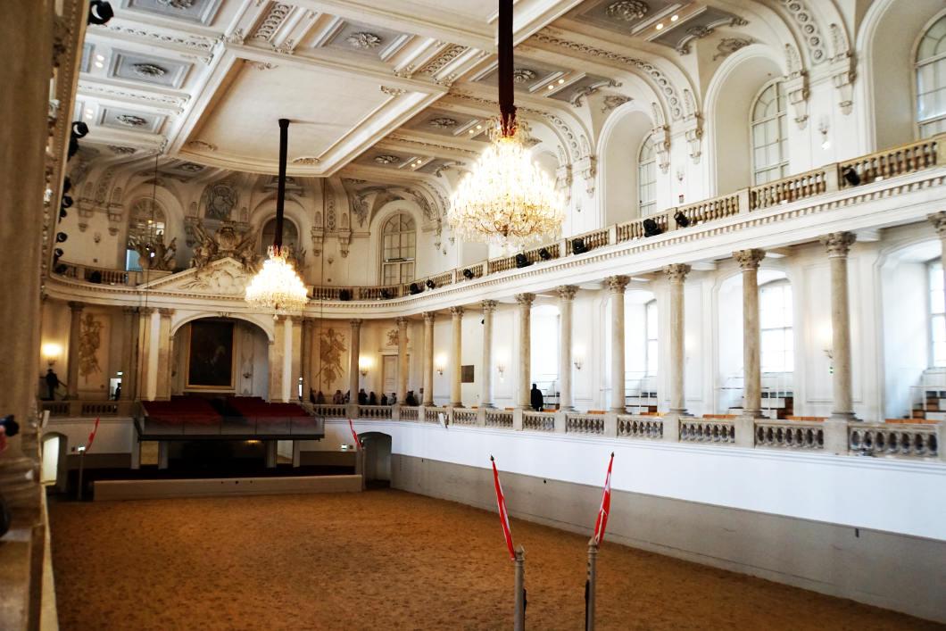 Reithalle der Spanischen Hofreitschule in Wien