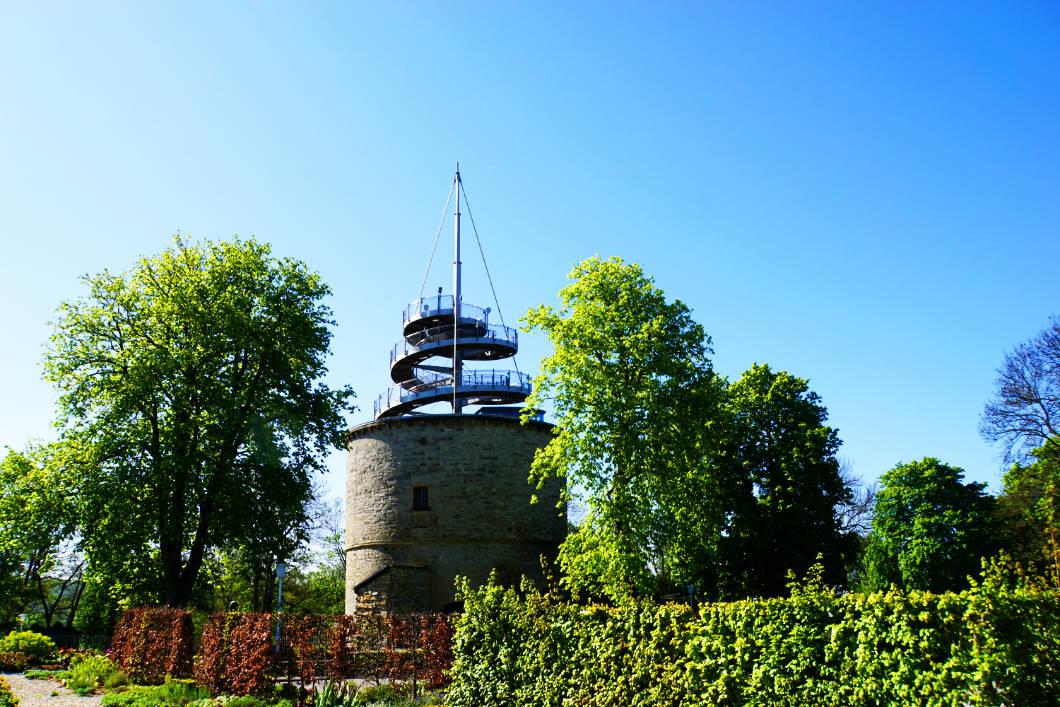 Aussichtsturm egapark in Erfurt