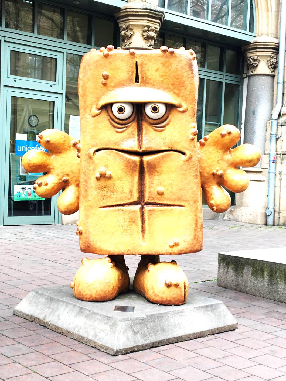 Bernd das Brot KiKa characters in Erfurt