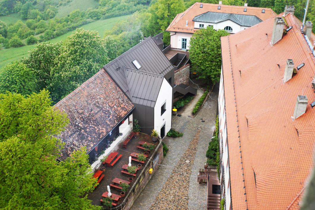 Burghof der Leuchtenburg