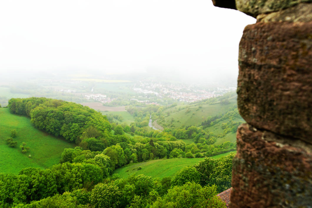 Ausblick von der Leuchtenburg