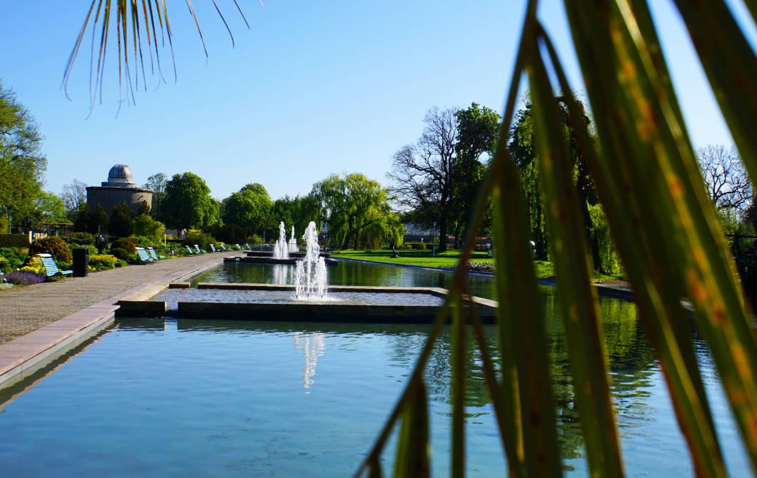 egapark Wasserbecken