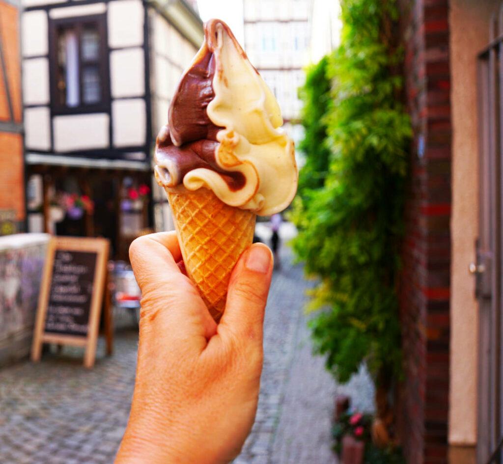 Eis in Schwerin essen - ILKA